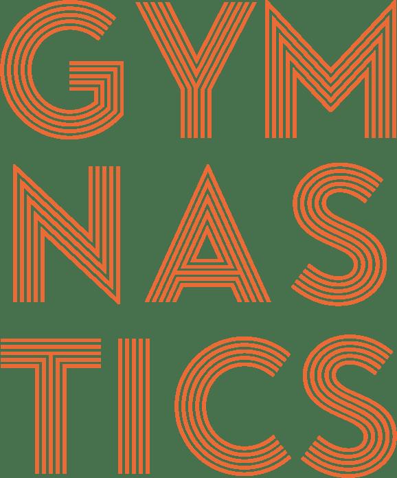sleven GYMNASTICS secondary orange